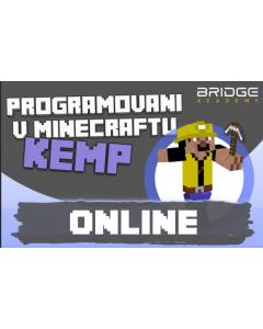 Mezinárodní virtuální kemp Programování v Minecraftu - 2021 (v českém i anglickém jazyce)